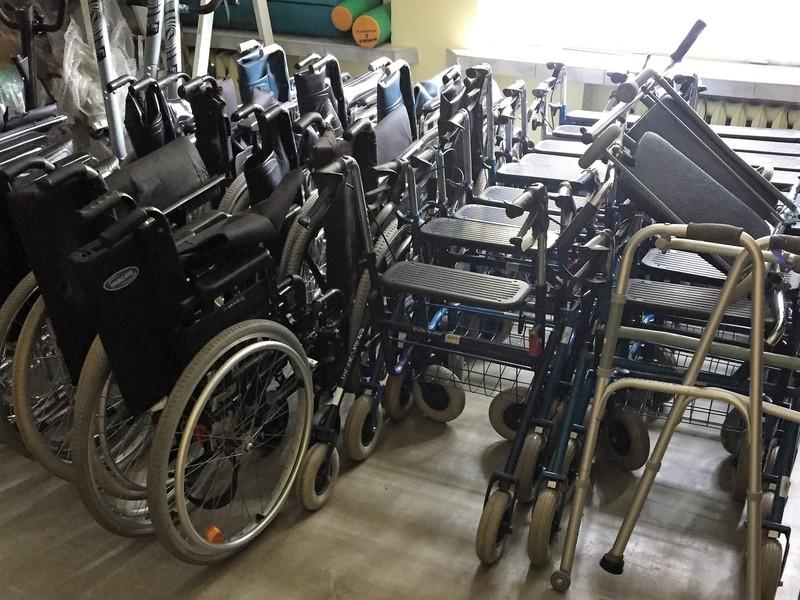 Najnowsze Wypożyczalnia sprzętu rehabilitacyjnego / Powiatowe Centrum Pomocy CT54